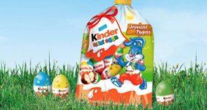 Pâques: bons de réduction sur les chocolats Kinder