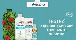 Test du duo shampooing + après-shampooing fortifiant Natessance