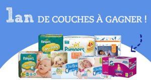 Bébés et Mamans: magazine gratuit et 1 an de couches Pampers à gagner