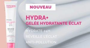 20 soins HYDRA+ Gelée Hydratante Éclat Topicrem à tester