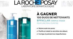 100 duos Effaclar La Roche-Posay à gagner