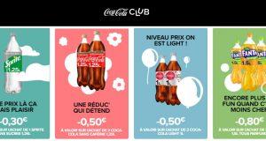 Bons de réduction Coca-Cola, Fanta, Sprite, Nestea, Capri-Sun