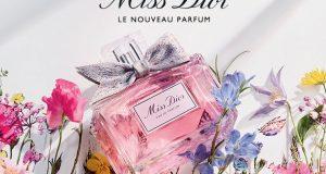 Échantillon gratuit de parfum Miss Dior