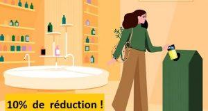 L'Occitane recyclage : 3 emballages vides ramenés = 10% de réduction
