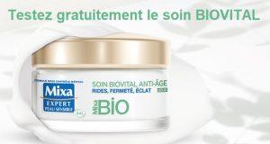 Crèmes visage Mixa Bio peaux sensibles à tester