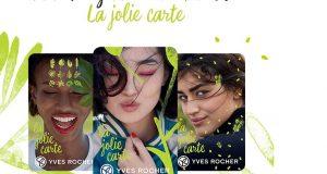 La Jolie Carte : le programme fidélité Yves Rocher