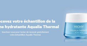 Échantillons gratuits de la crème hydratante Aqualia Thermal Vichy