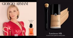 Échantillons Armani parfum Sì Intense et fond de teint Luminous Silk