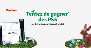 Jeu de Pâques Auchan : lapins en chocolat et Playstation 5 à gagner