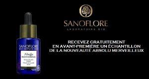 Sanoflore : échantillons gratuits du soin Absolu Merveilleux