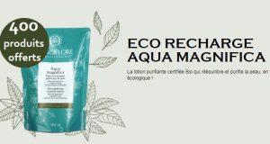Sanoflore : testez gratuitement Aqua Magnifica éco-recharge