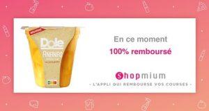 Shopmium : fruits en jus Dole 100% remboursés