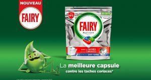 10.000 packs de capsules vaisselle Fairy Platinum+ à recevoir
