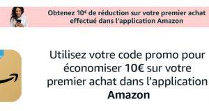 Amazon : 10€ de réduction avec l'application