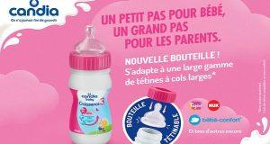 Testez les laits infantiles Candia Baby