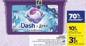 Dash : lessive Allin1 Pods moins chère