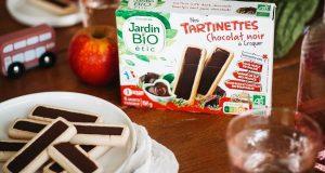 Testez les Tartinettes au chocolat de Jardin Bio