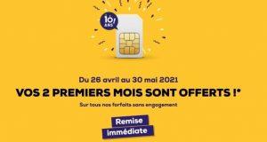La Poste Mobile : forfaits sans engagement avec 2 mois offerts