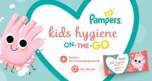 Pampers : testez les lingettes Kids Hygiene On-The-Go