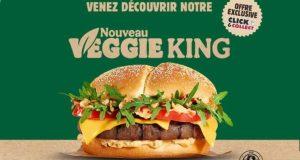 Burger King : votre burger Veggie King offert