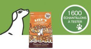 Échantillons gratuits de croquettes pour chien Lily's Kitchen