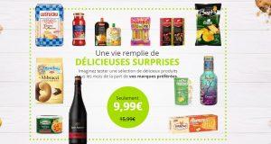 Degustabox: la box gourmande à 9,99€ au lieu de 15,99€