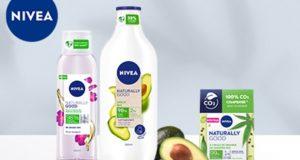 Nivea : 100 routines de soins Naturally Good à tester