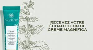 Sanoflore : échantillons gratuits de la crème Magnifica