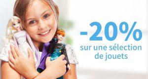 Shop Disney : -20% et 10% supplémentaire sur les jouets