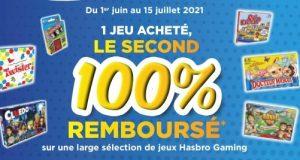 Jeux de société Hasbro : 2ème 100% remboursé