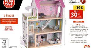 Bon plan jouet : la maison des poupées pas chère chez Lidl à 30€