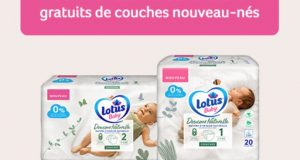 Échantillon gratuit de couches Lotus Baby