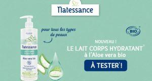 Testez gratuitement le lait Hydratant Natessance