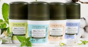 Sanoflore : testez gratuitement les nouveaux déodorants 48h