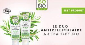 So'Bio : testez les soins capillaires au Tea tree bio