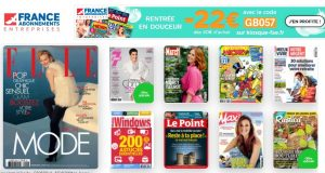 Kiosque FAE : les abonnements magazines moins chers