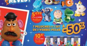 Cora : opération collector avec figurines, autocollants et peluches Pixar