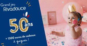 50 ans Rivadouce : trousseau bébé à gagner