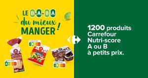 3.000 coffrets Carrefour B.A-BA Mieux Manger offerts