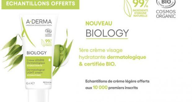 Échantillons gratuits Crème Légère ADerma Biology